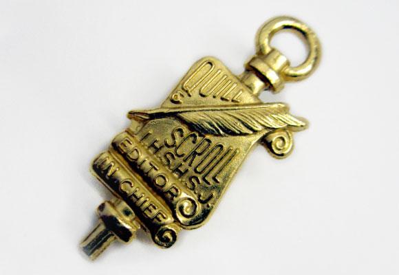 Member Editor In Chief pin