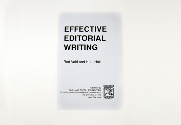Effective Editorial Writing