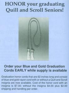 Honor Cord Ad